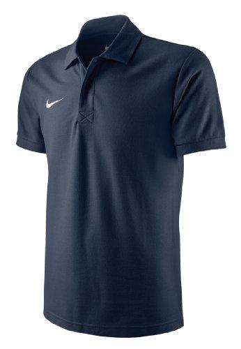 Nike Herren T-shirt TS Core, Obsidian/White,  454800-451, Gr. M