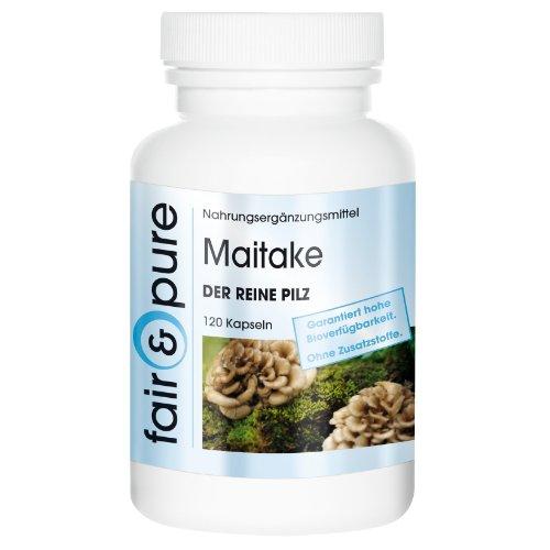 Maitake 650mg – Der Reine Pilz (Grifola frondosa) 120 Kapseln