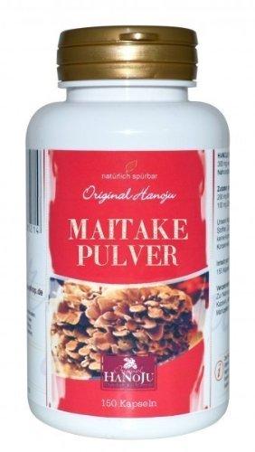 Bio Maitake Pilz Pulver, 150 Kapseln, 250 mg