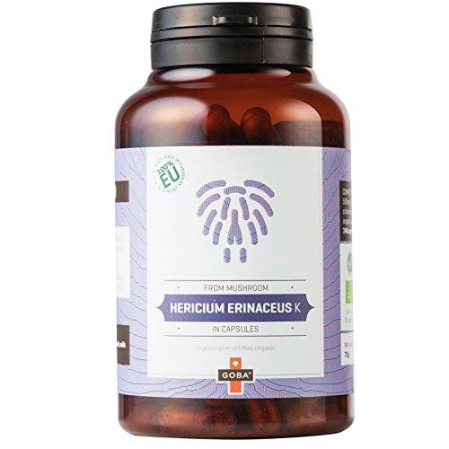 BIO Hericium Erinaceus K Pulver Kapseln 140