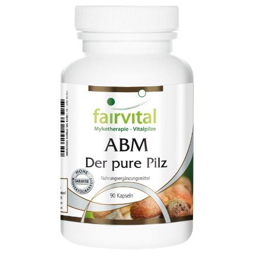 ABM (Agaricus Blazei Murill) – Der pure Pilz 500mg Pilzpulver Kapseln