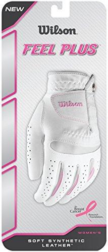 Wilson Damen Golf Handschuh Feel Plus LLH weiß