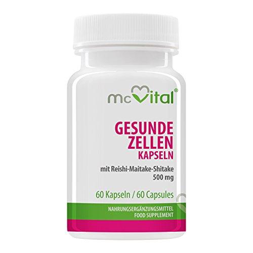 Vitalpilz Mischung Reishi-Maitake-Shiitake 500 mg 60 Kapseln
