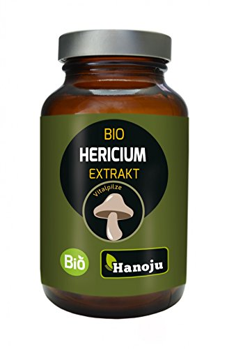 Bio Hericium Pilz Extrakt 320 mg 60 Kapseln