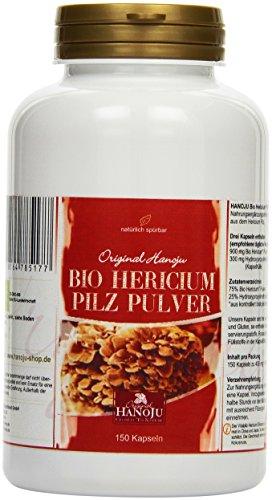 Hericium Pulver 150 Kapseln 300 mg