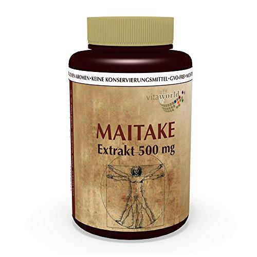 Maitake Extrakt 500mg 100 Vegi Kapseln