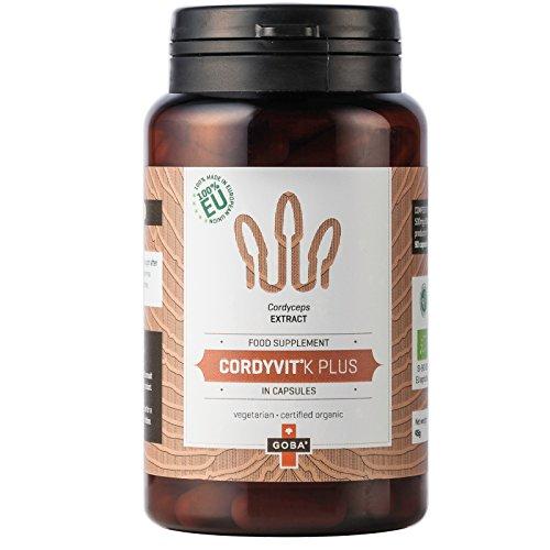 BIO CordyVit K-PLUS® Cordyceps Extrakt Kapseln 90 Vitalpilze